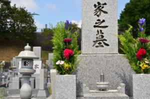 お墓・墓石文字彫刻イメージ写真