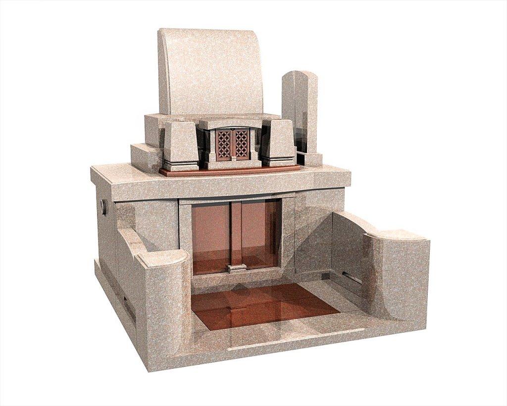 佐賀県のお墓洋型墓石イメージ画像