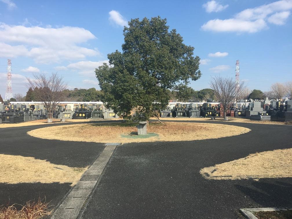 熊本市営桃尾墓園の全体写真